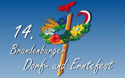 14. Brandenburger Dorf- & Erntefest 9. bis 10. September 2017 in Raddusch/Raduš